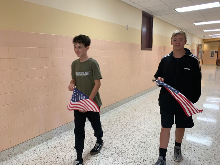 Moving Flag